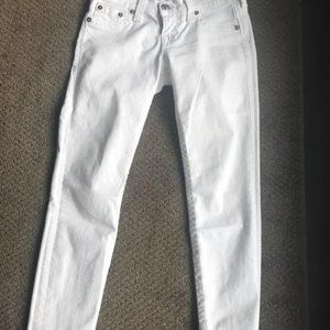 White Skinny Jeans from True Religion
